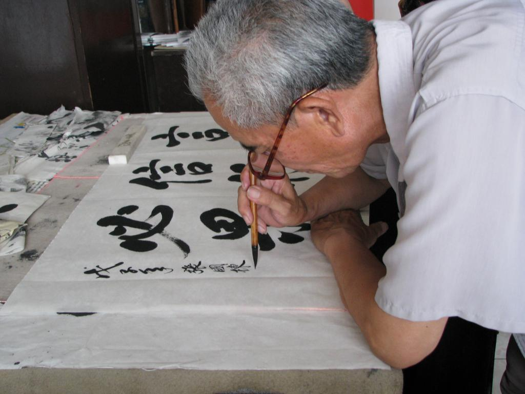 chinese caligraphy  u2013 party favor  u2013 ny party works