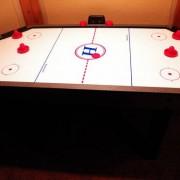 six sided hair hockey table