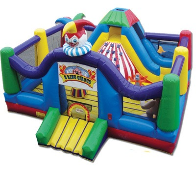 three ring circus party rental