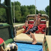 Boot camp challenge course rental