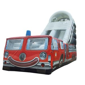 Fire truck slide rental