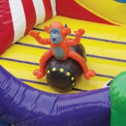 Three ring circus blow up party rental