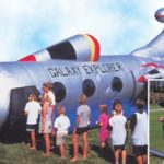 Galaxy Explorer inflatable