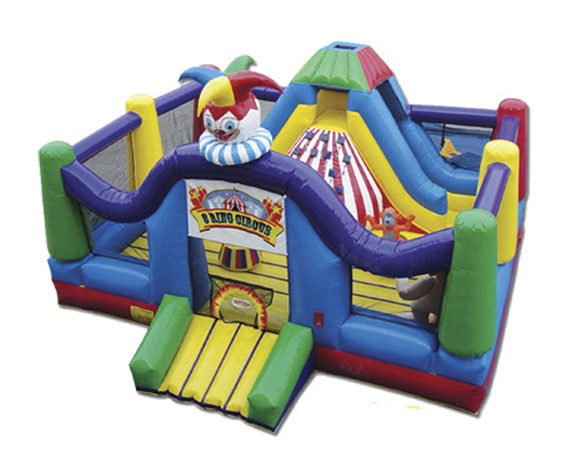 Three Ring Circus bounce house