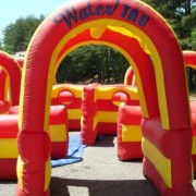 water tag inflatable rental