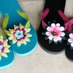 flower flip fops