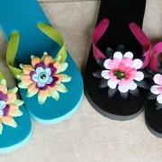 7 2010 Flower Flip Flops 2