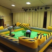 Meltdown Zone Inflatable Game Rental on Long Island NY
