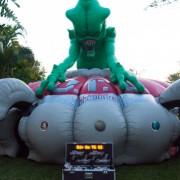 alien invasion lazer tag game