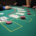 black jack table rentals