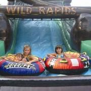 wild rapids slide
