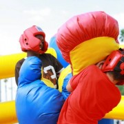 Bounce boxing rental game