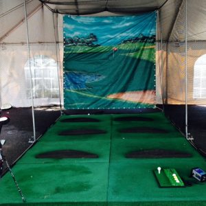 Sports cage rental
