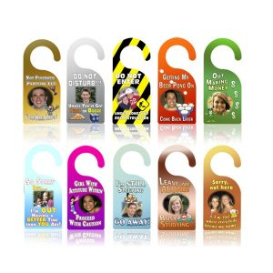 variety of door hangers