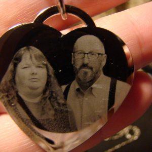etched memorabilia jewelry