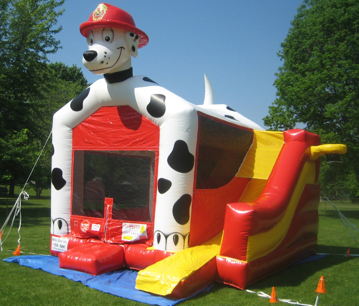 Dalmation Bouncer Inflatable Rental Ny Party Works