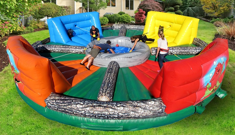 Hippo Chow Down Inflatable Rental From Ny Party Works