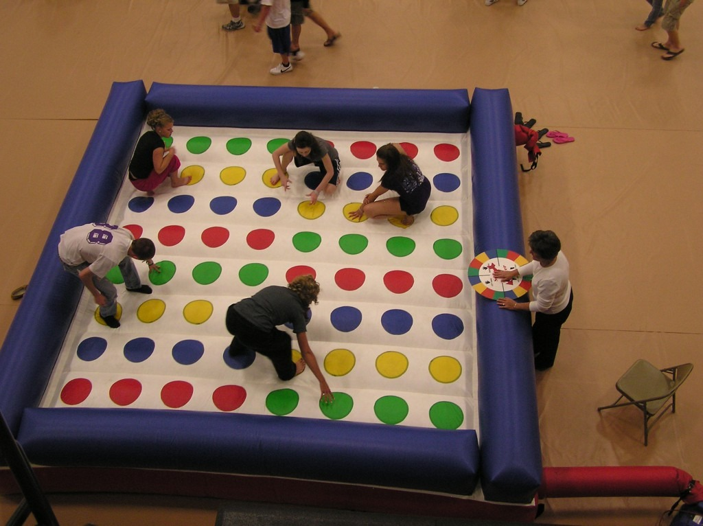 Human Twister Giant Games From Ny Party Works