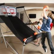 Pop a shot basketball & football