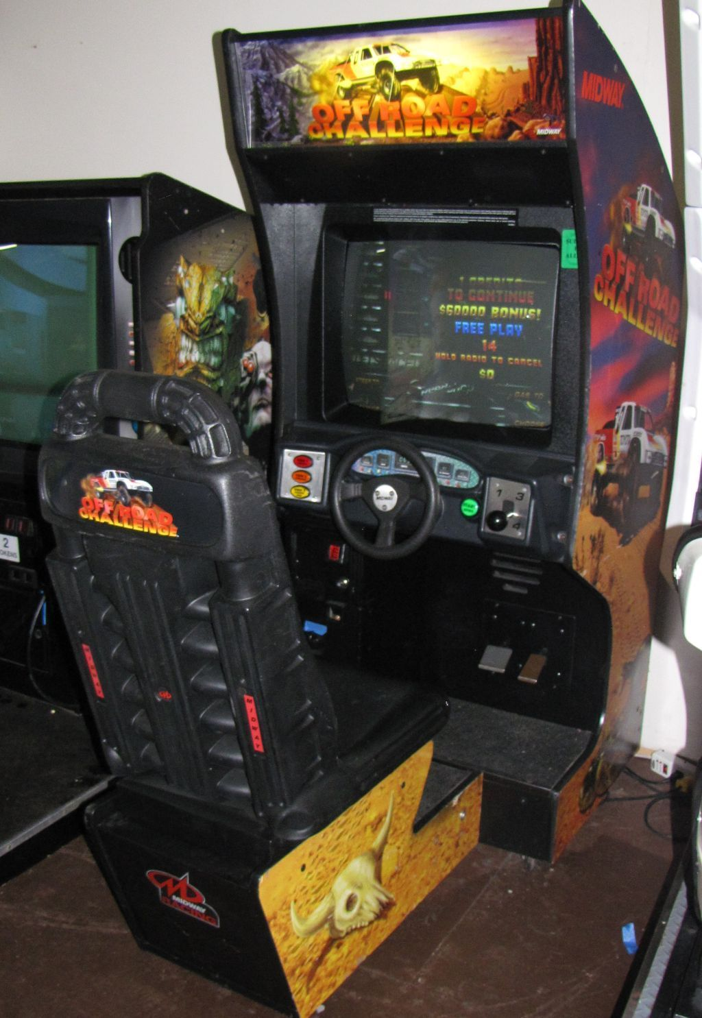 Off Road Challenge Arcade Party Rental