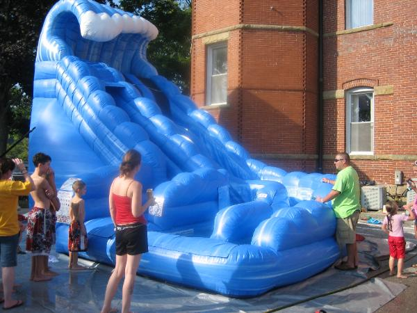 Monster Water Slide Inflatable Rental Ny Party Works