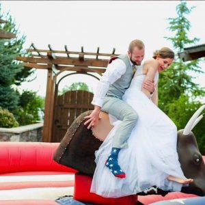Wedding Mechanical Bull