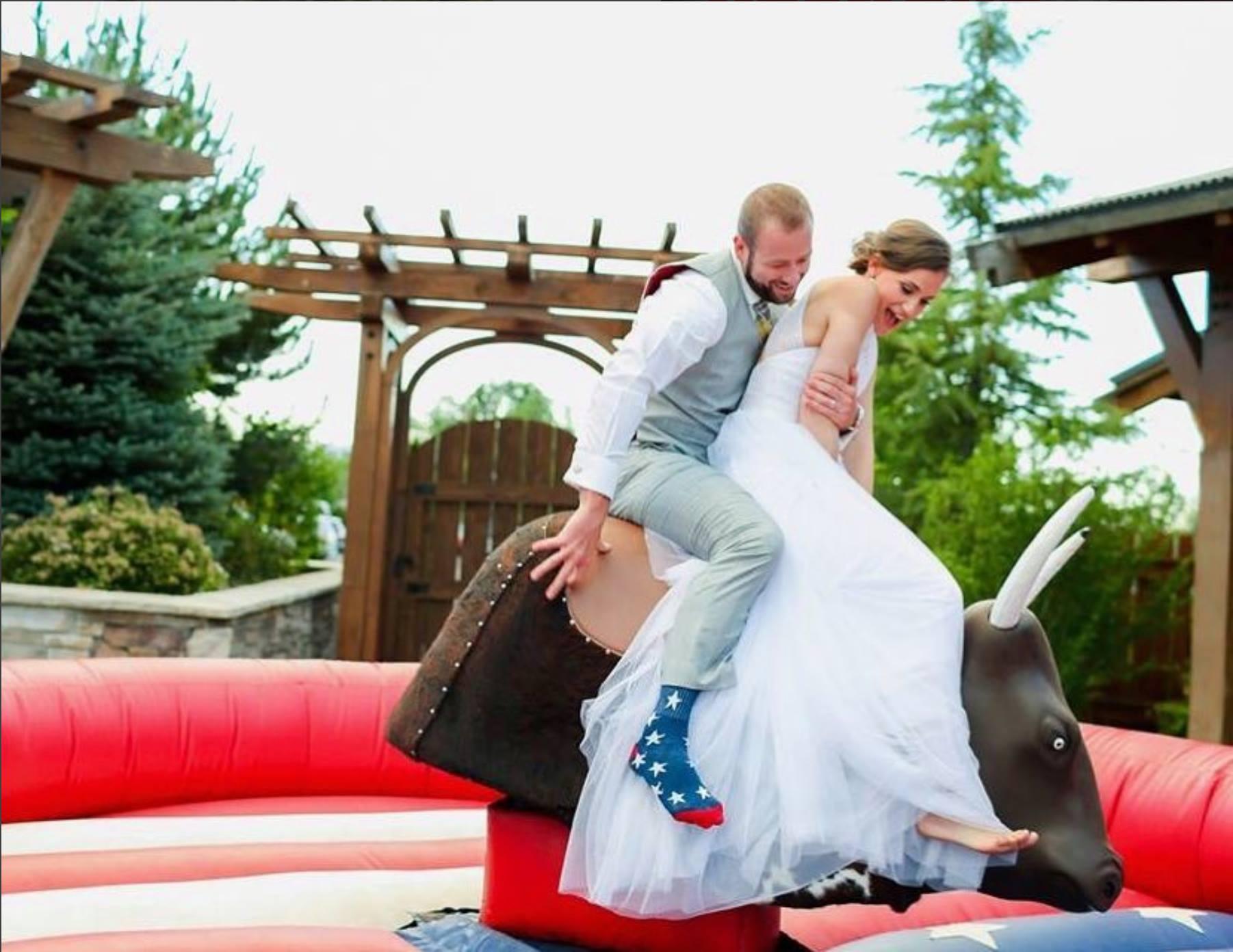 Wedding Mechanical Bull