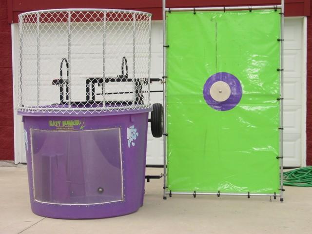 purple dunk tank
