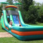 18ft super splash water slide