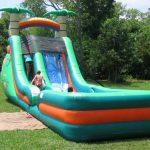 18ft super splash water slide