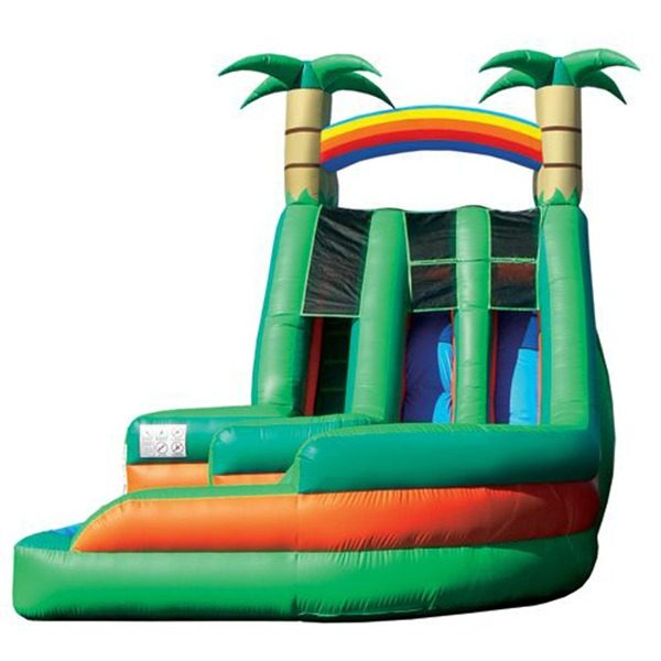 Inflatable Water Slide Rental San Jose: Splash Down Water Slide