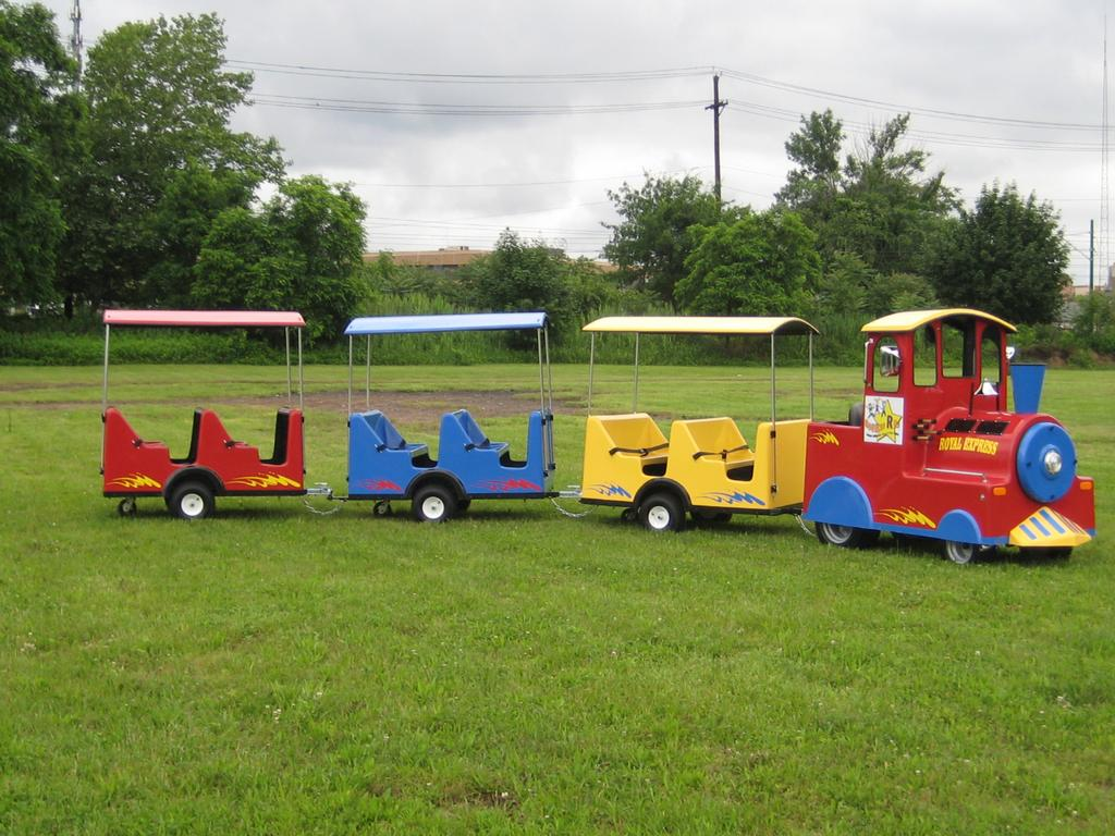 trackless train full