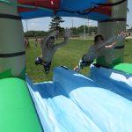 Tropical slip & slide rental