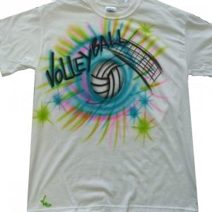 Airbrushed apparel