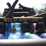 wild rapids slide inflatable