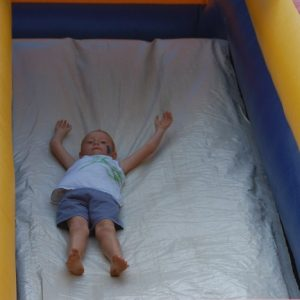 Giant slide for parties