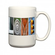 Custom mugs & alphabet art