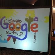 interactive art wall