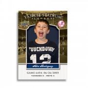 Baseball card personalized