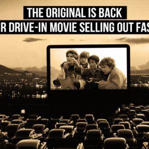 Drive-In Movie Screen