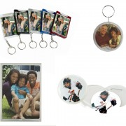 buttons, magnets & keychains