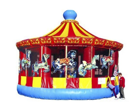 Inflatable bounce carousel rentals by NY Party Works