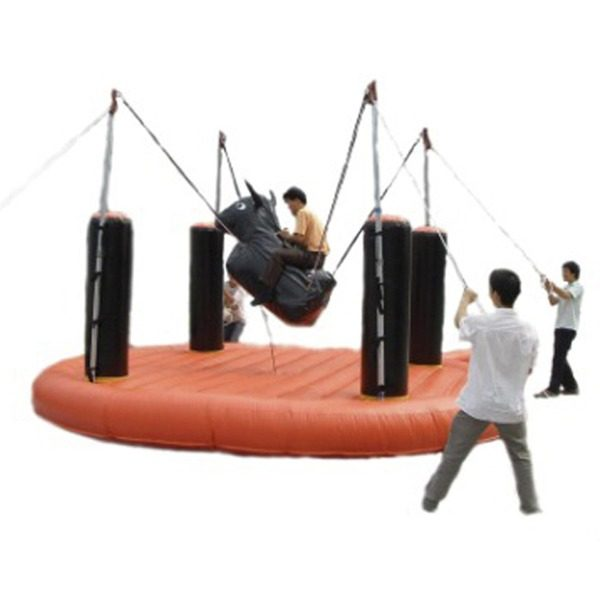 Bungee bull party rental