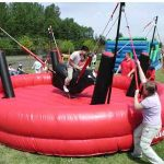 Bungee Bull Inflatable Mechanical Bull