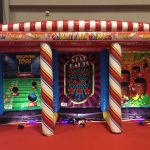 carnival-3-in-1 inflatable game rental by NY Party Works of Long Island