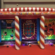 carnival-3-in-1 inflatable game rental on Long Island NY