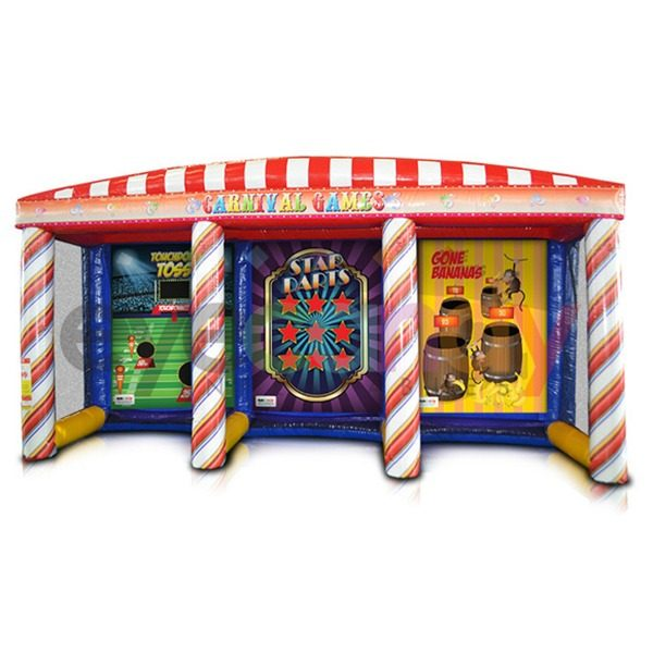 3in1 Inflatable Carnival Game Rentals by NY Party Works