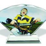 custom crystal photos