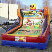 chucklin chickens inflatable