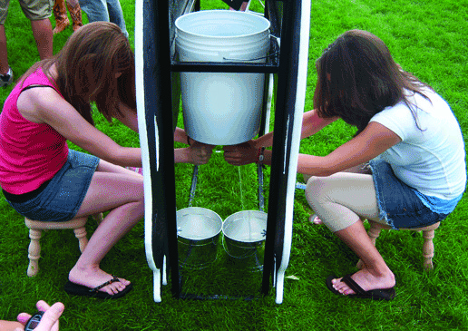 Cow Milking Contest Carnival Game Rentals